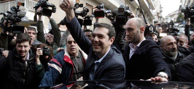 Yunanistan'da Radikal Sol İktidara Geliyor