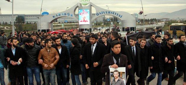 Zonguldak ve Karabük'te Ülkücü Öğrenciler Fırat İçin Yürüdü