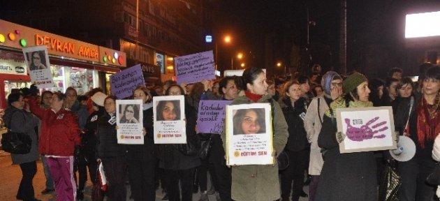 Zonguldaklı Kadınlar Özgecan İçin Yürüdü