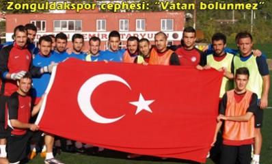 Zonguldakspor'dan Teröre Tepki