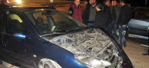 Zonguldak'ta Trafik Kazası; 1 Yaralı