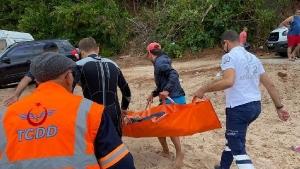 Bartın'da denize giren 13 yaşındaki çocuk boğuldu