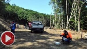 Bartın'da Katil Arılar Drone'la Aranıyor