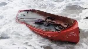 114 Metrelik Gemi Böyle Sulara Gömüldü