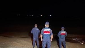 Bartın'da denizde görülen esrarengiz cisim arandı