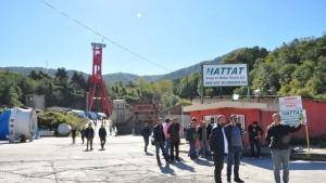 Maden İşçilerinin Kuledeki Eyleminde 3'üncü Gün