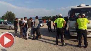 Bartın'da yasadışı göçmen operasyonu