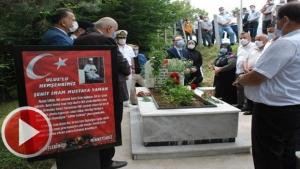 15 Temmuz şehidi imam Bartın'da mezarı başında anıldı