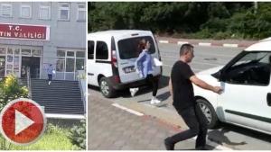 Bartın Polisi sınava geç kalan öğrencileri okula yetiştirdi
