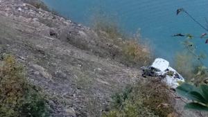 Bartın'da Otomobil baraj gölüne uçtu, 3 kişi öldü
