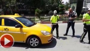Bartın'da taksi denetimleri