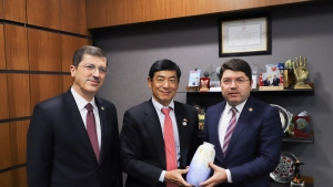 Japonya Büyükelçisinden Tunç'a Ziyaret