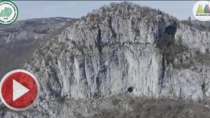Bartın Kemerli Mağarası Havadan Görüntülendi