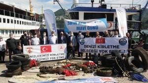Karadenizin incisi Amasra'da denizden çıkanlar şaşırttı