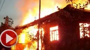 Kumluca'da Büyük Yangın