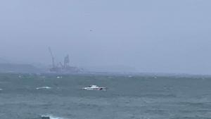 Bartın'da gemi battı, can pazarı yaşanıyor