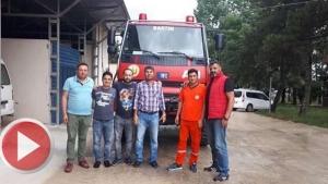 Bartın'dan Fethiye'deki Yangına Arazöz Takviyesi