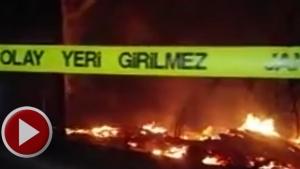 Bartın'da iki ev yangında kül oldu