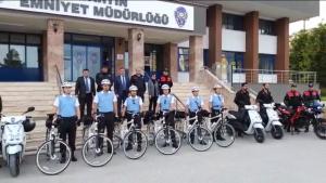 Bisikletli Polis Martı'lar Göreve Başladı