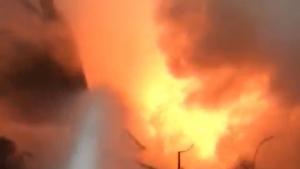 Bartın OSB'de yangın 14 saatte söndürüldü