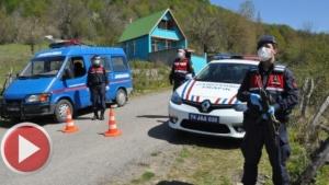 Bartın'da 700 haneli köy karantinaya alındı