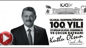 Bartın Belediye Başkanı Cemal Akın'ın 23 Nisan Mesajı