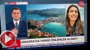 Bartın Amasra TRT Haber'de