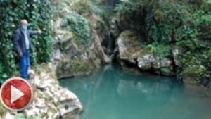 Arıkaya kanyonundaki şelaleler keşfedilmeyi bekliyor