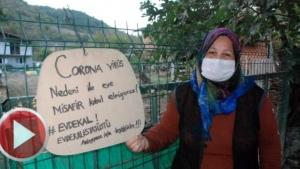 Bartın'da Virüsten korunmak için misafir kabul etmiyorlar