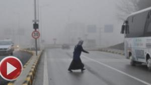 Bartın'da yoğun sis ulaşımı aksattı