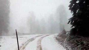 Bartın'da Kar