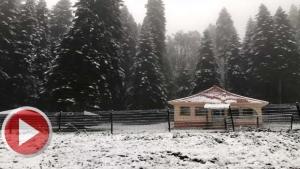 Bartın'da Yaylalara Mayıs Ayında Kar Yağdı