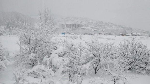 Bartın Merkez'de Kar