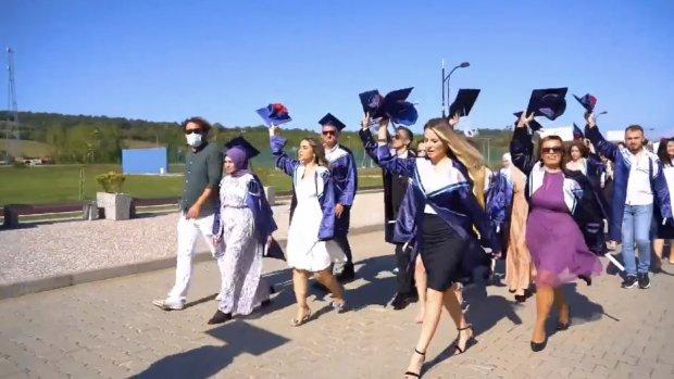 Bartın Üniversitesi 2021 Yılı Mezuniyet Töreni