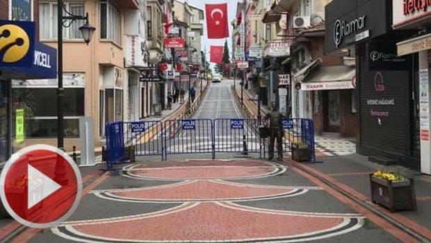 Ramazan Bayramı Arefesinde Bartın Caddeleri