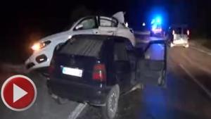 Bartın'da İki Otomobil Çarpıştı: 5 Yaralı