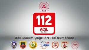 TÜM TÜRKİYE'DE ACİL DURUMDA TEK NUMARA 112