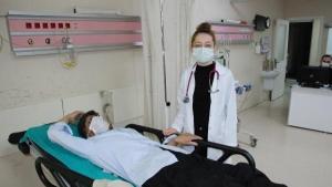 Bartın'da Doktorlara Çirkin Saldırı