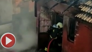 Bartın Gerişkatırcı Köyünde Yangın