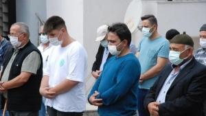 Bartın'da bebeği sezaryenle alındıktan sonra vefat eden anne defnedildi